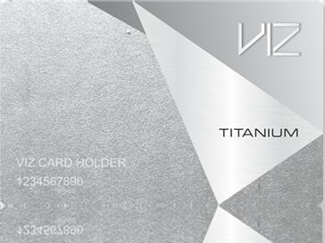 VIZ TITUNIUM CARD